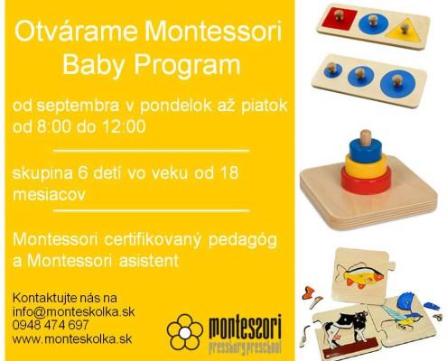 Montessori Baby Program